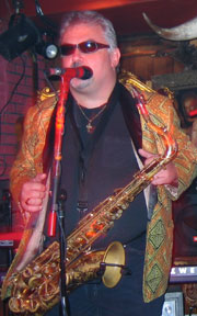 Ted on sax